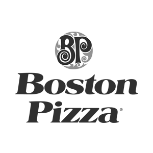 Boston Pizza 300 Greyscale